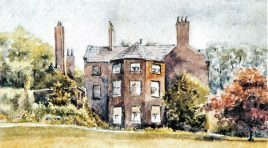 The Lost Houses of Derbshire – West House, Chesterfield