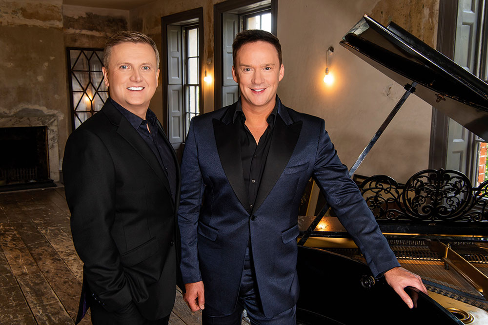 Celebrity Interview – Aled Jones & Russell Watson