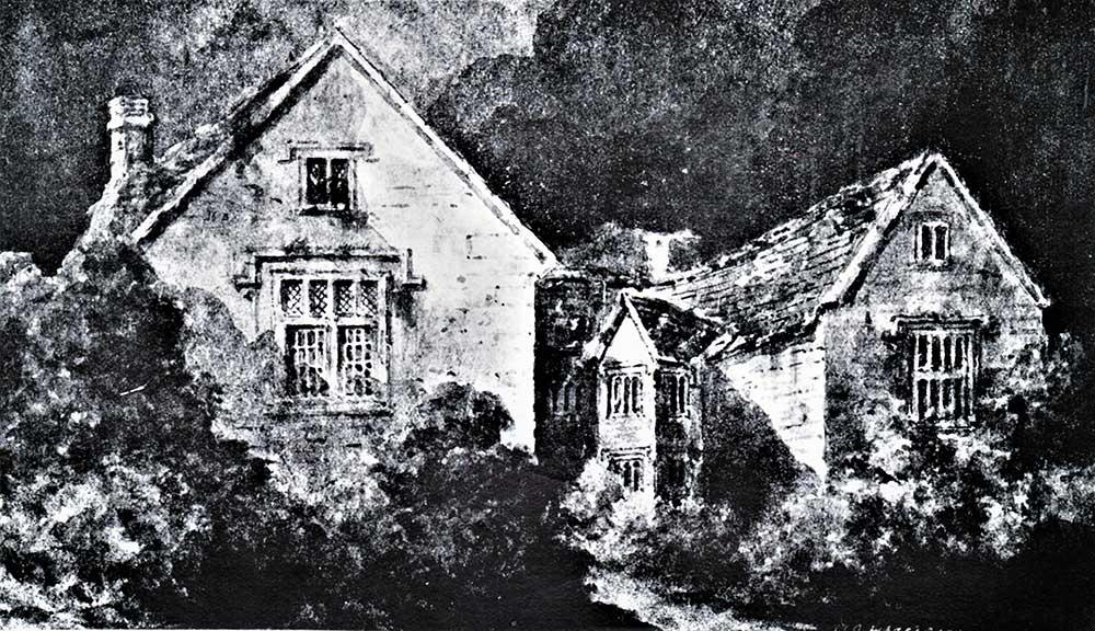 Lost Houses of Derbyshire – Hazelbarrow Hall, Eckington